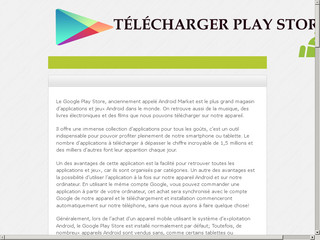 Telechargerplaystore.org : Actualité Play store