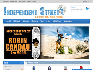 Independentstreet.fr : Equipements de skateboard