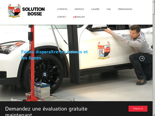 Solution Bosse : débosselage de carrosserie